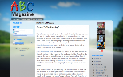 ABC Magazine – Escape to the country feature article