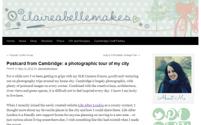 Claire Abelle – a photographic tour of Cambridge