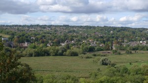 Views from St Catherine's Hill