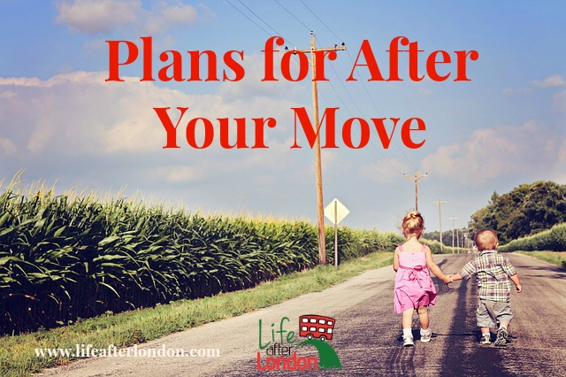 Plans for After Your Move