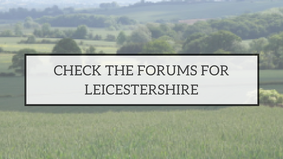 LEICESTERSHIRE FORUMS